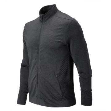 New Balance M4M Seamless Jacket, Black