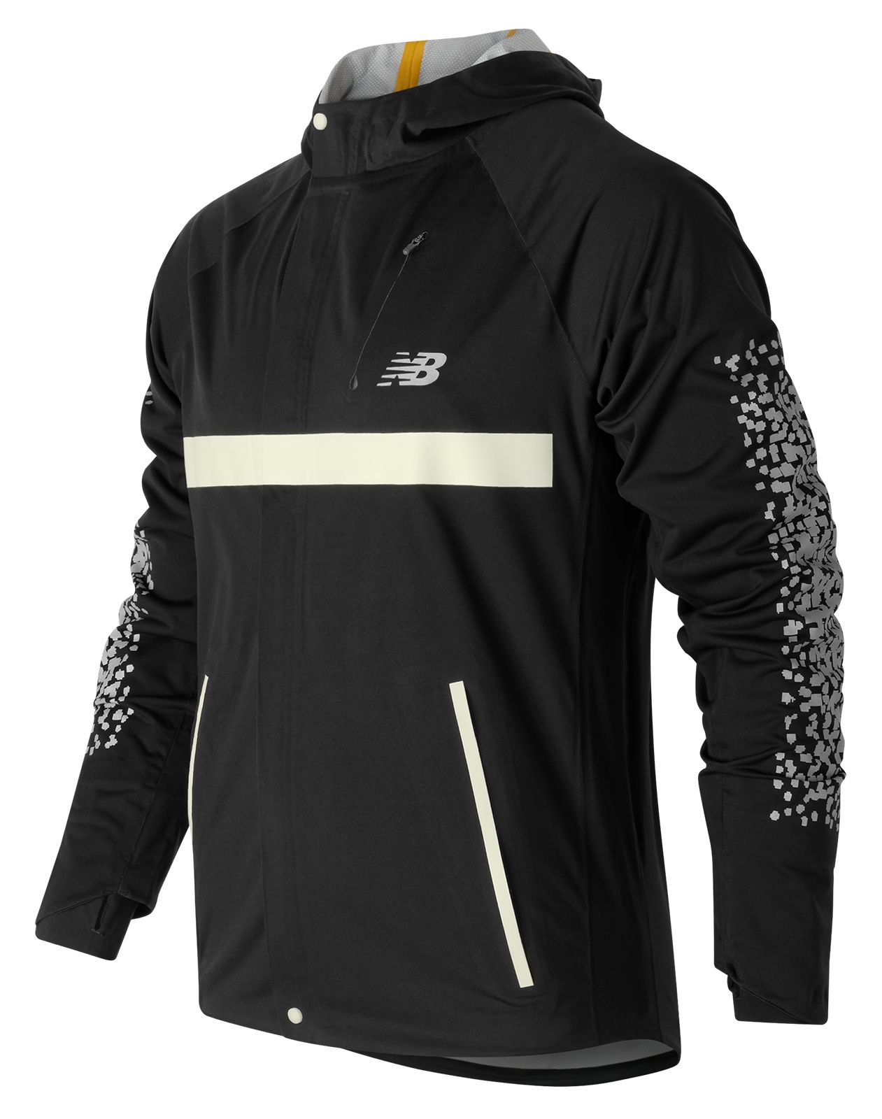 New Balance : Beacon Jacket : Men's Performance : MJ63213BK