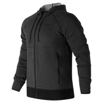 New Balance Sport Style Full Zip, Black