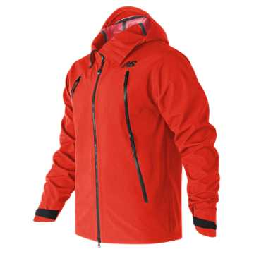 New Balance Mens 3Layer Jacket, Alpha Orange