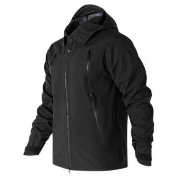 New Balance Mens 3Layer Jacket, Black