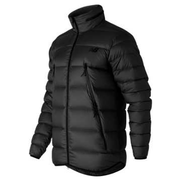 New Balance Mens Down Jacket, Black
