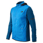 NB Transit Jacket, Electric Blue with Black