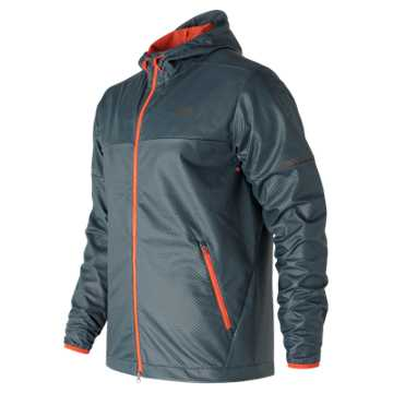 New Balance Max Intensity Jacket, Supercell with Alpha Orange