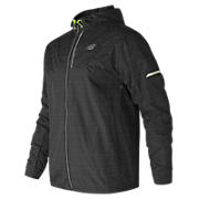 Reflective Lite Packable Jacket, Black