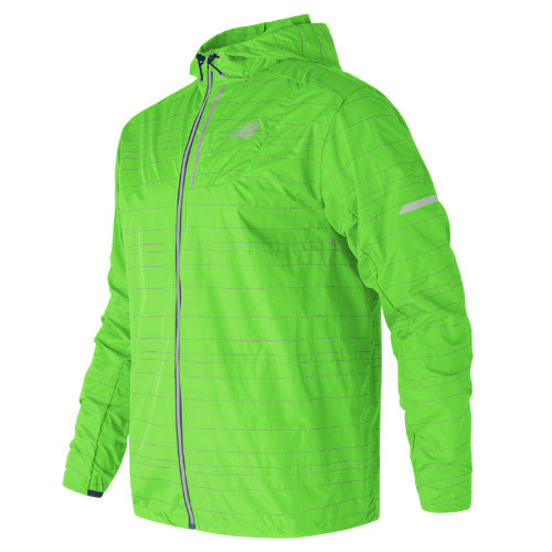 New Balance : Reflective Lite Packable Jacket : Men's Performance : MJ71203EGL