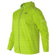 New Balance Reflective Lite Packable Jacket, Hi-Lite