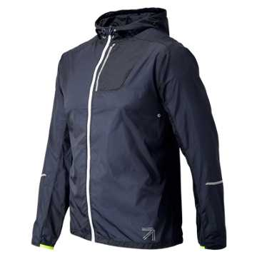 New Balance J.Crew Lite Packable Jacket, Navy