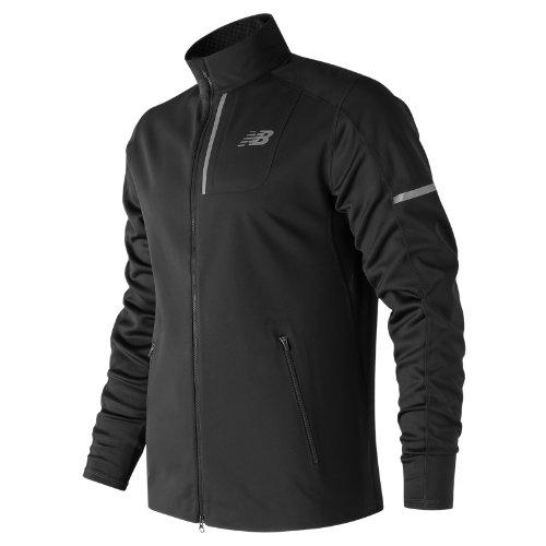 New Balance Windblocker Jacket Boy's All Clothing - MJ73218BK