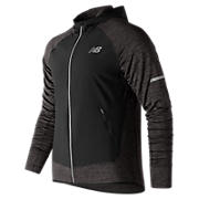 NB Heat Run Jacket, Heather Charcoal