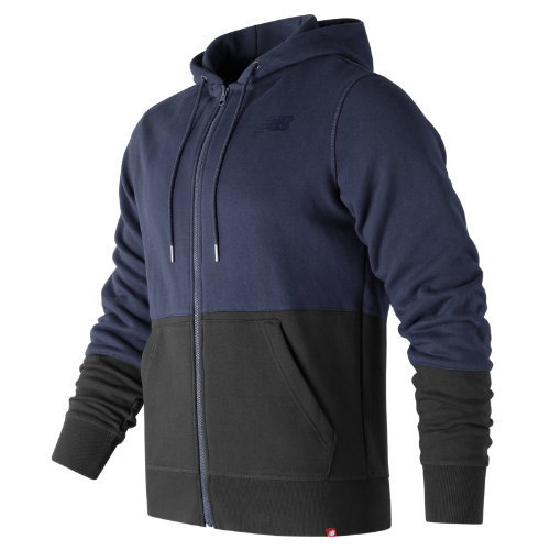 New Balance Essentials Full Zip Hoodie Boy's All Clothing - MJ73528DCL