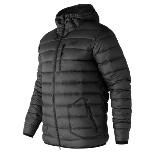 New Balance 247 Luxe Down Jacket Boy's All Clothing - MJ73548BK