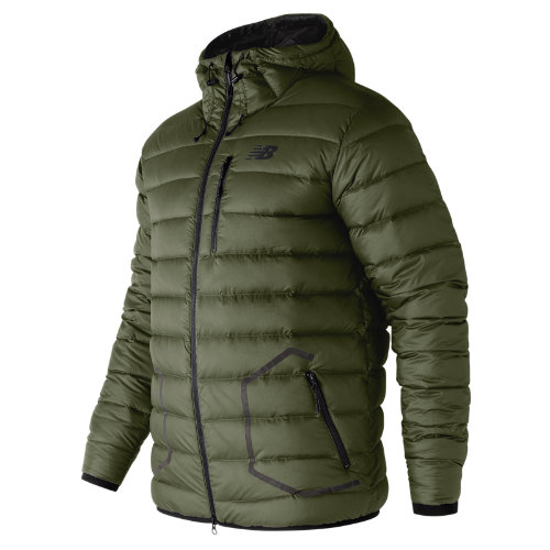 New Balance 247 Luxe Down Jacket Boy's All Clothing - MJ73548MKG