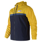 NB Athletics 78 Jacket, Atomic with Yellow