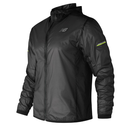 New Balance Ultra Light Packable Jacket Boy's Performance - MJ81240BK