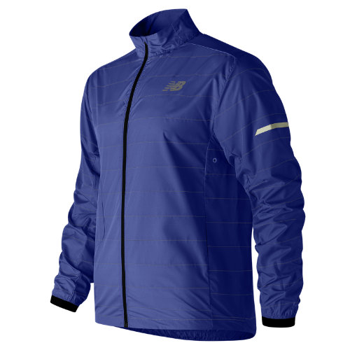 New Balance Reflective Packable Jacket Boy's Performance - MJ81242PC