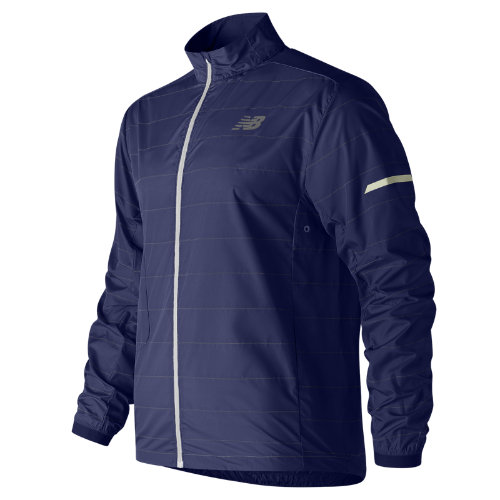 New Balance Reflective Packable Jacket Boy's Performance - MJ81242PGM