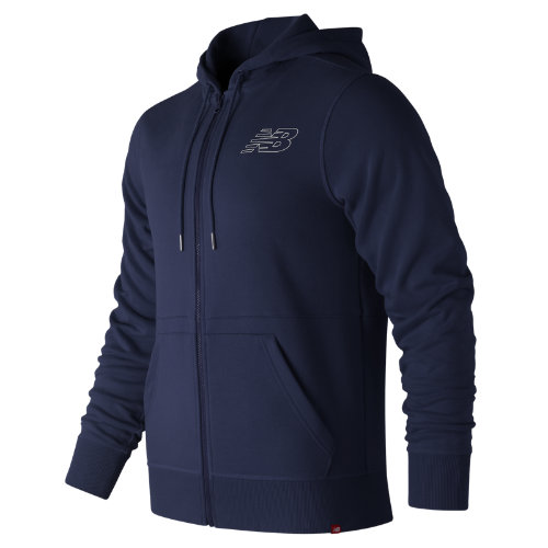 New Balance Essentials Full Zip Hoodie Boy's Casual - MJ81508PGM