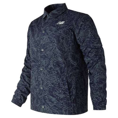 New Balance Classic Printed Coaches Jacket Boy's Casual - MJ81534MOT