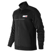 NB Athletics Track Jacket, Black