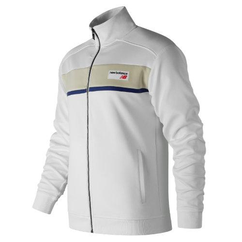 New Balance NB Athletics Track Jacket Boy's Casual - MJ81551WT