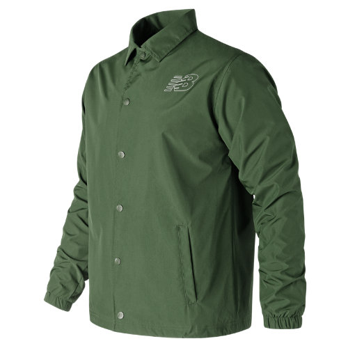 New Balance Classic Coaches Jacket Boy's Performance - MJ81590DCG