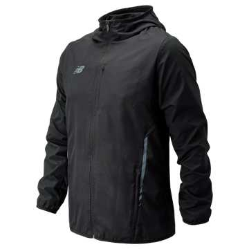 Men's Core Training Rain Jacket, Black