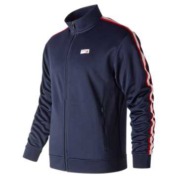 Men's NB Athletics Track Jacket , Pigment