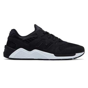 New Balance 009 New Balance, Black with White