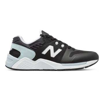 New Balance 009 New Balance, Black with Light Grey