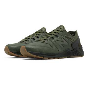 New Balance 009 New Balance, Dark Olive with Black