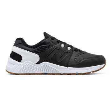 New Balance 009 New Balance, Black with White