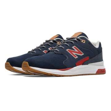 New Balance 1550 REVlite, Navy with Red