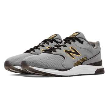 New Balance 1550 Bold and Gold, Grey with Black & Gold