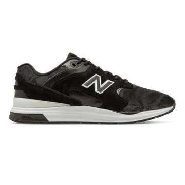 New Balance 1550 REVlite Reflective, Black with White
