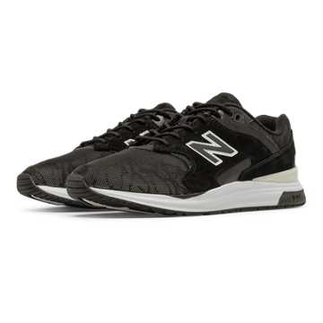 New Balance 1550 REVlite Reflective, Black with White