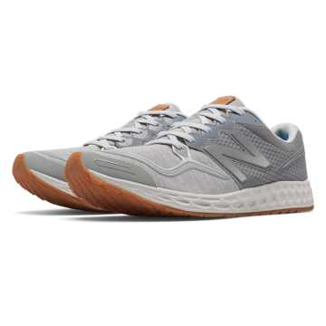 New Balance Fresh Foam Zante Sweatshirt, Grey with Light Grey