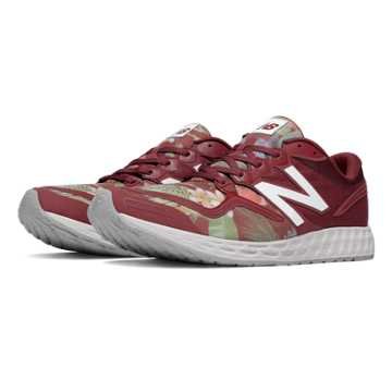 New Balance Fresh Foam Zante Paradise Awaits, Burgundy