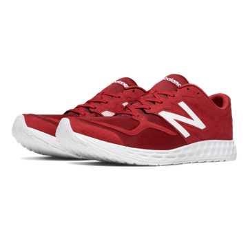 New Balance Fresh Foam Zante Mesh, Red with White
