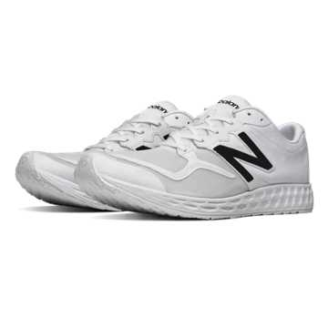New Balance Fresh Foam Zante, White with Black