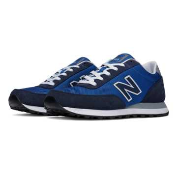 New Balance 501 New Balance, Blue with Navy