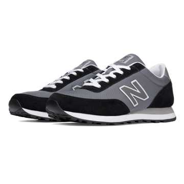 New Balance 501 New Balance, Grey with Castlerock
