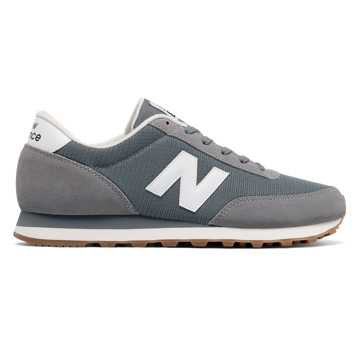 New Balance 501 New Balance, Grey with White