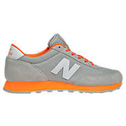 Heritage Brights 501, Grey with Orange