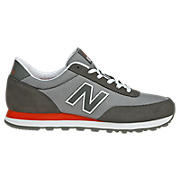 New Balance 501, Grey with Red
