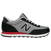 New Balance 501, Black with Grey