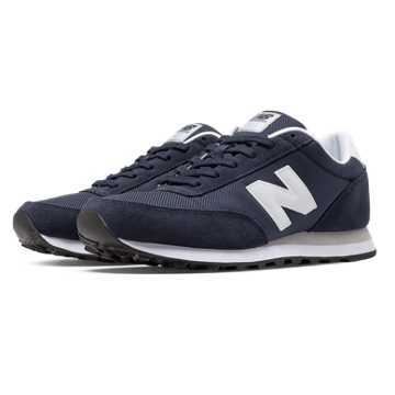 New Balance 501 Ballistic, Navy with White