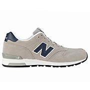 New Balance 565, Grey with Navy & White