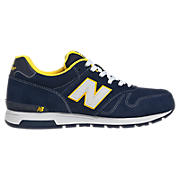 New Balance 565, Navy with Yellow