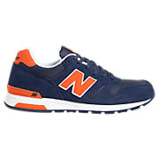 New Balance 565, Navy with Orange